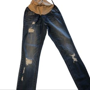 3 for $20- Indigo Reign Maternity Distressed Jeans